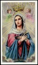 """santino-holy card""""""""ediz. EB-n.2/907 REGINA MUNDI"""