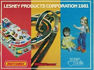 MATCHBOX LESNEY PRODUCTS CORPORATION 1981 CATALOG