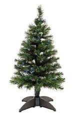 Green 3 Foot 90 cm Fibre Optic Shimmer Christmas Xmas Tree