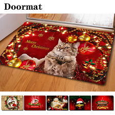 Red Funny Christmas Doormat Outdoor Non-slip Mat Carpet Bathmat Christmas Gifts