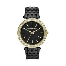 Horloge Femme Michael Kors Darci MK3322 Poignet Sangle Noir Analogique Mk