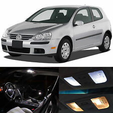 White Interior LED Lights Package Kit for 2006-2009 Volkswagen GOLF GTI MK5