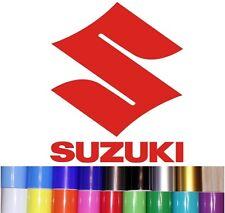 2 Stickers Logo SUZUKI H16cm x L13cm