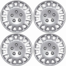 NEW Hub Caps Style 996 Full Wheel Rim Universal Cover Silver 14'' -Set of 4