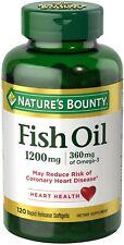 Fish Oil, 1,200 mg, 120 Coated Softgels, Exp. 08/2020