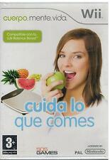 Cuida lo que comes (Wii Nuevo)