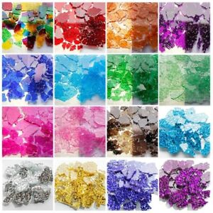 Ice Cracked Multi-Color Glass Mosaic Tiles For Crafts Mosaic Arts 100g/0.22lb