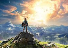 The Legend Of Zelda Breath Of The Wild 3 Poster Print A4 260gsm