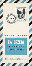 CATALOGUE de timbres d'ANIMAUX : ZWIERZETA na znaczkach pocztowych + POLOGNE