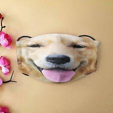 Cute Golden Retriever Puppy Dog Lover Reusable Face Protective Anti Dust