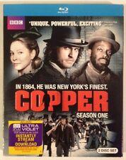 COPPER: Season One - NEW SEALED BLU-RAY SET!!