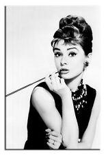 Audrey Hepburn 60x90cm Leinwand-Kunstdruck