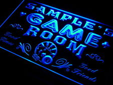 Name Personalized Custom Game Room Club Home Bar Beer Neon Sign
