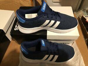 NIB ADIDAS ORIGINALS Lite Racer Big Kid Boy Blue GS Running Shoes F35529 Size 3
