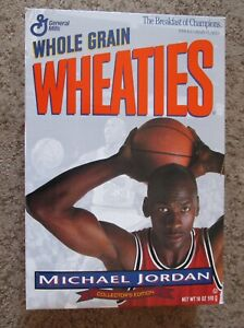 "Vintage 1993  Michael Jordan ""Collector's"" Wheaties Box"