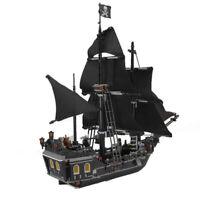 LEGO COM. MATTONCINI NAVE PIRATI DEI CARAIBI LA PERLA NERA JACK SPARROW REGALO