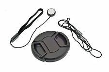 Kood 37mm Centre Grip Snap Cap Lens Cap & Elasticated Cap Keeper 37mm