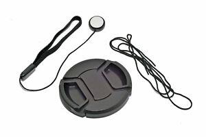 Kood 55mm Centre Grip Snap Cap Lens Cap & Elasticated Cap Keeper 55mm