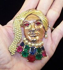 TRIFARI 'David Mir' Huge Bejeweled 'Sinbad' the Sailor Pin
