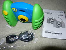 new Discovery Kids digital camera green usb compatible discover kid lcd display