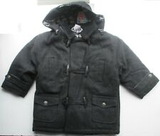 New  Duffle coat by Chicaloo for 3/4 year old grey  warm for winter  scarce rare