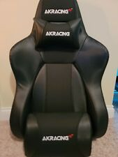 AKRacing Master Series Premium Carbon Black Faux Leather Chair Back