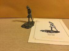 Vintage Saturday Evening Post Franklin Mint Pewter Figurine Get A Horse