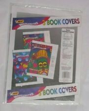 """Vintage 1993 BIC WAVELENGTHS ART ATTACKS 3 BOOK COVERS 14.25x22"""" - NEW Sealed"""