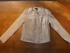 Zip Leather Regular Size Coats & Jackets for Women