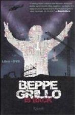 libro  +  DVD nuovo non sigillato Beppe Grillo is back. LA FELTRINELLI