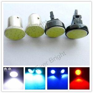100Pcs COB P21W 1156 BA15S/1157 BAY15D 3156 3157 7440 7443 Led Turn Light Bulbs