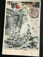 1904 CHINA RUSSO JAPAN WAR PEKING COILING DRAGON STAMP POSTCARD 1of3