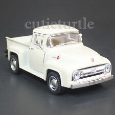 Kinsmart 1956 Ford F-100 PickUp Truck 1:38 Diecast Toy Car Cream