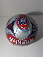 Mls Chicago Fire Mini Soccer Ball Match Ball Replica autographed