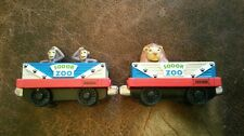Thomas The Train Diecast Trains 2 Piece Lot Sodor Zoo Set Lion Monkeys  (#5)