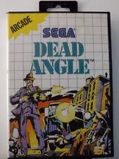 !!! Sega Master gioco Dead ANGLE O. anl., usati ma ben!!!