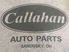 Genuine Crazy Dog Callahan Auto Parts Sandusky, OH Men's  Rare T-Shirt Large L
