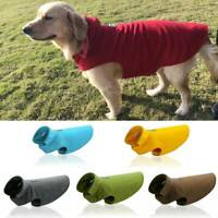 Pet Dog Puppy Waterproof Fleece Cotton Winter Warm Coat Jacket Clothes XS-3XL