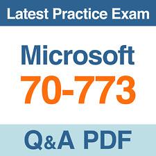 Microsoft Practice Test 70-773 Analyzing Big Data with Microsoft R Exam Q&A PDF