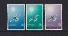 Norfolk Island - 1976, Noël, Oiseaux Ensemble - MNH - Sg 176/8