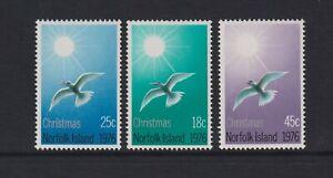 Norfolk Island - 1976, Christmas, Birds set - MNH - SG 176/8