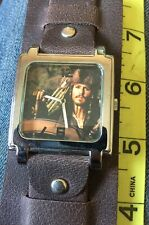 Pirates Of Caribbean Jack Sparrow Exclusive Hot Topic DISNEY Watch NEW