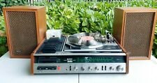 More details for vintage retro sony hp-239a retro record player & speakers 1972 - excellent !
