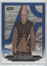 2017 Topps Star Wars Galactic Files Reborn Blue #TPM-19 Ki-Adi Mundi Card a2v