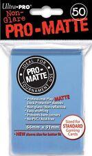 50 PRO MATTE DECK PROTECTORS Light Blue Celeste MTG MAGIC Ultra Pro