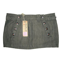 REPLAY Micro Jupe Jupette Courte S 38-40 Coton Mélangé Mini Skirt Fashion Italy