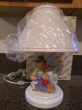 Princess House Berenstain Bears Children's Lamp w Shade 1991 New In Box