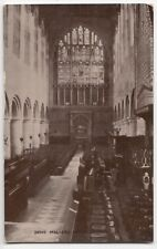 Worcestershire; Malvern, Priory Church Interior PPC Unposted, By Photochrom