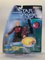 1997 Playmates Star Trek Warp Factor Series 1 Captain Jean-Luc Picard Figure Toy