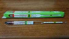 Vintage Glass AQUARIUM Thermometer NEW in Box NOS FREE Shipping